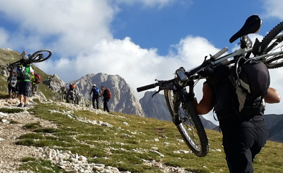 gran sasso mountain bike